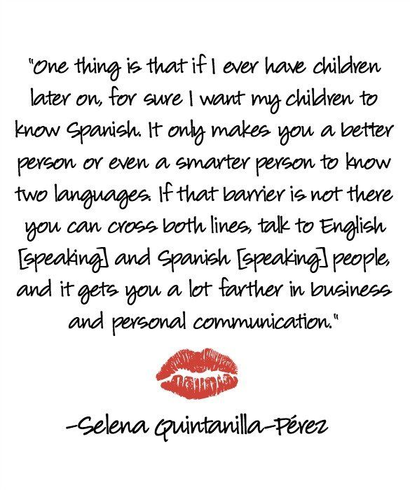 5 Selena Quotes to Live By - Latina Mom Tips & Advice | mom.me