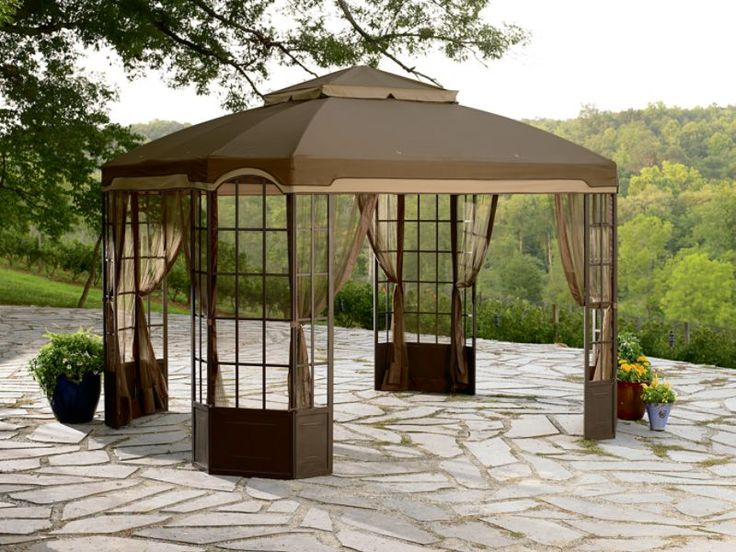 New Garden Oasis REPLACEMENT Canopy For Bay Window Gazebo D71 12217  GZ120PST 2D | Replacement Canopy, Garden Oasis And Canopy