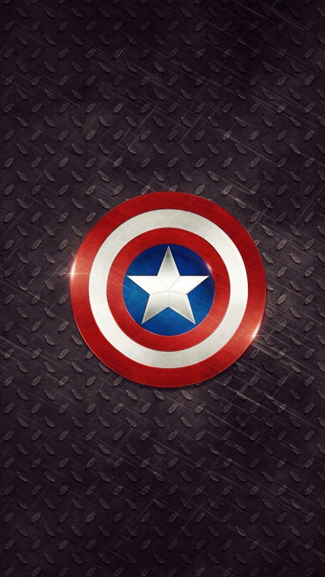 Captain America Logo iPhone 5s Wallpaper Download | iPhone Wallpapers, iPad wallpapers One-stop Download