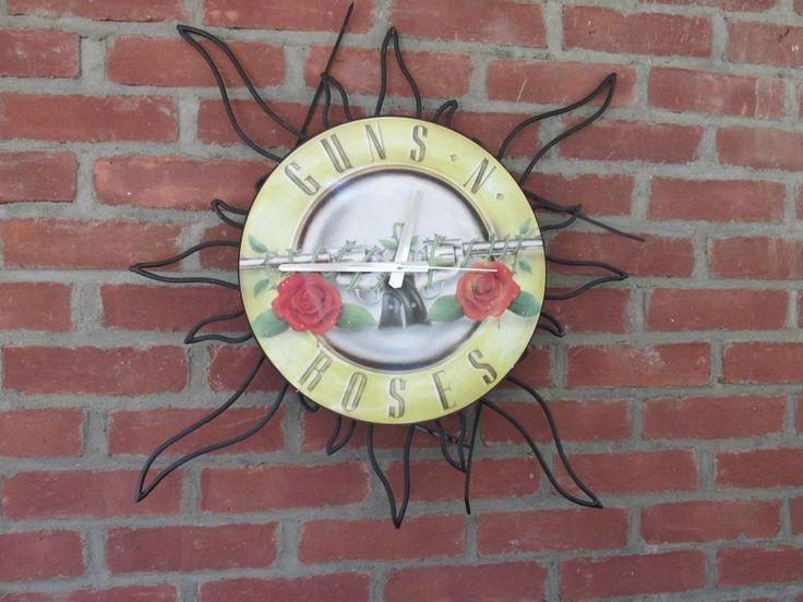 Guns N' Roses Not in This Lifetime 2016 Concert Tour Wall Clock Metal GNR