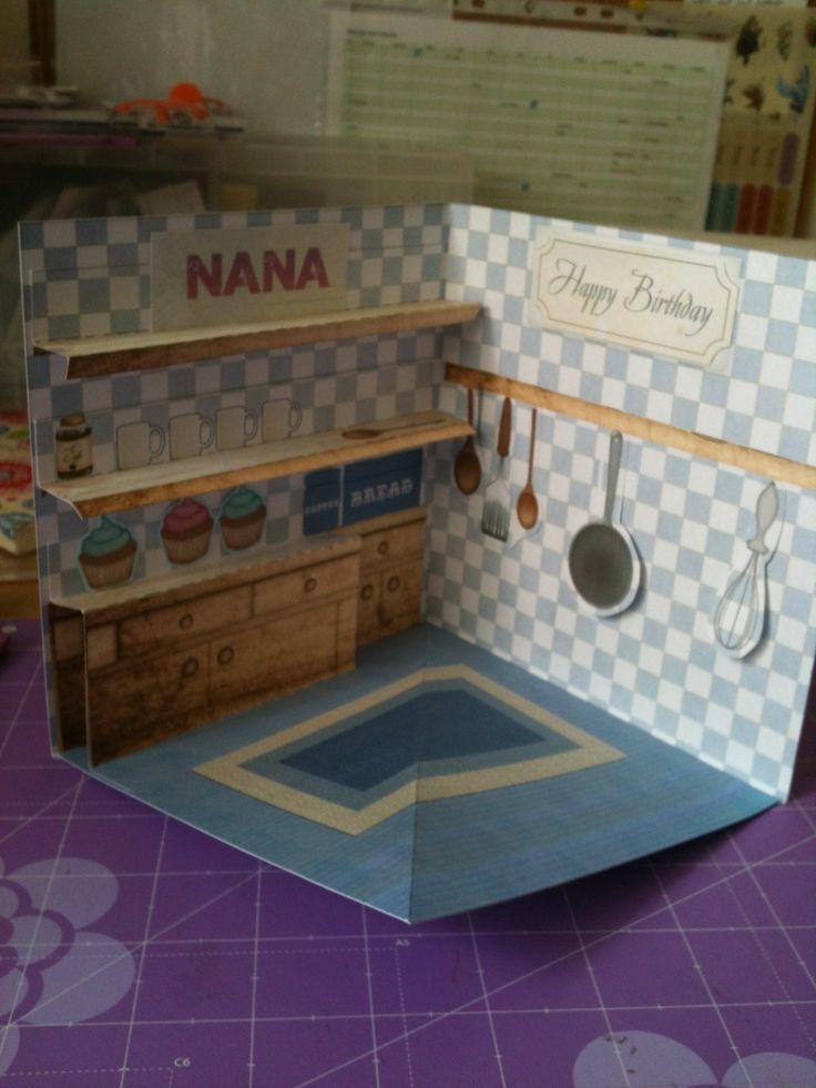 3D kitchen card