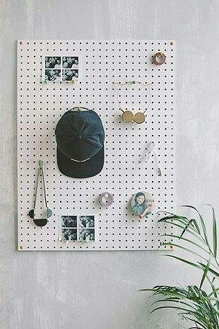 25 best ideas about pegboard display on pinterest peg. Black Bedroom Furniture Sets. Home Design Ideas
