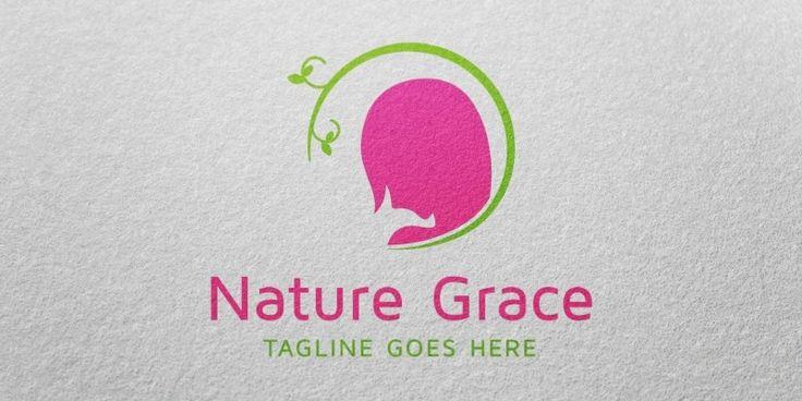 Nature Grace Logo Template for Sale: 29$ + TVA