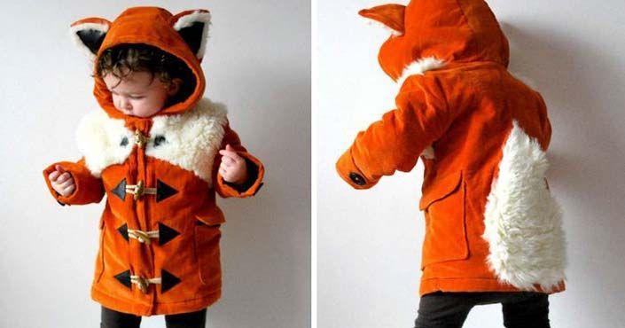Dve maminky vyrábajú roztomilé kabátiky, ktoré premenia deti na zvieratká a ochránia ich pred chladom a vetrom. handmade hravé detské kabátiky oblečenie
