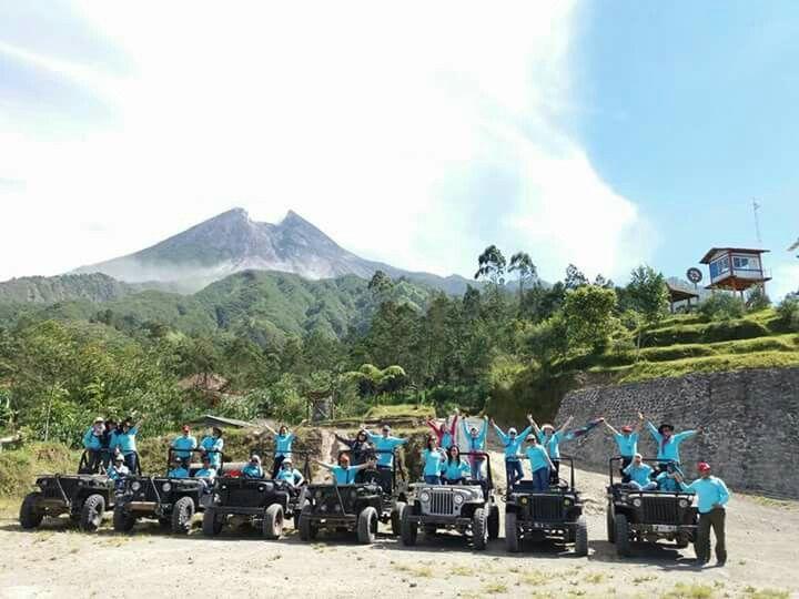 Jeep merapi lava tour paket rute long