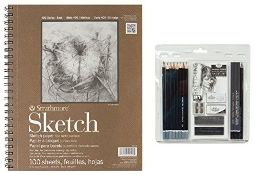 #manythings.online #Royal & #Langnickel Essentials graphite sketching set includes all the necessary tools needed to start your art adventure today. This set incl...