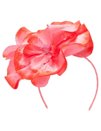 MORGAN & TAYLOR large flower fascinator #cupday #myerspringfashion