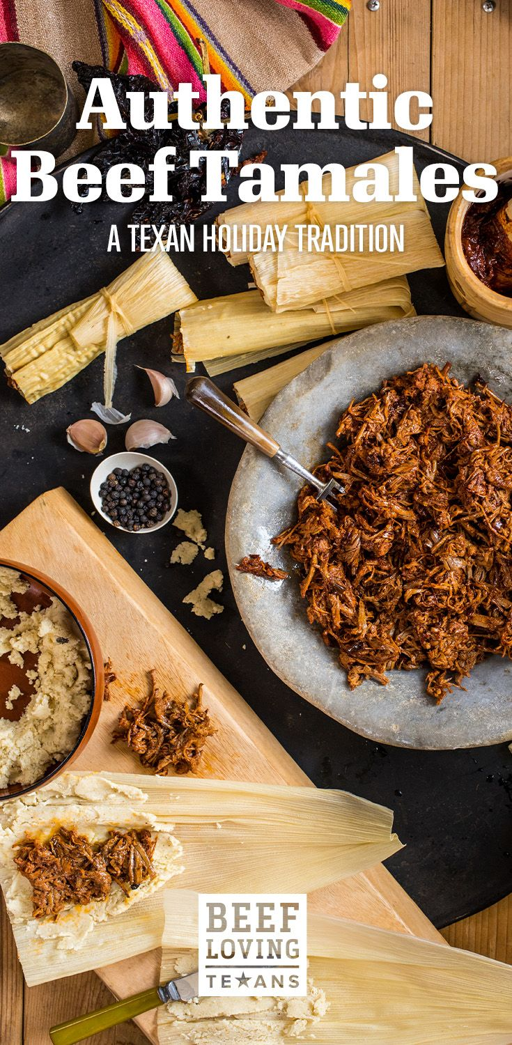 Bring family together for the holidays with this authentic beef tamale recipe!