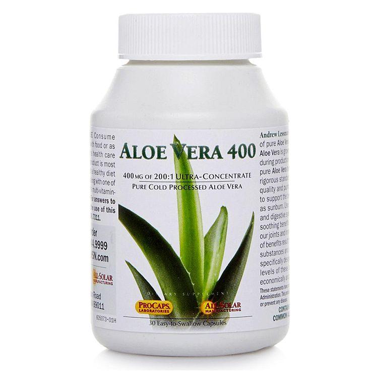 Andrew Lessman Aloe Vera 400 - 30 Capsules