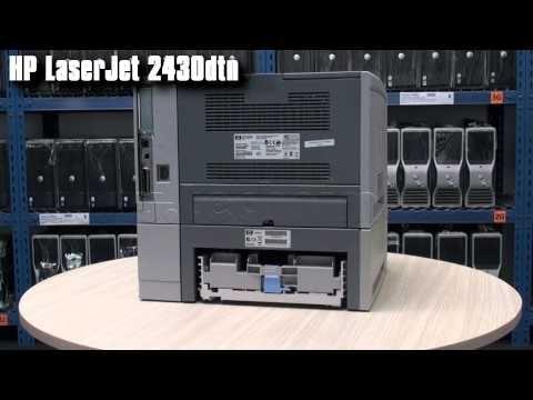 Velkokapacitní tiskárna HP LaserJet 2430DTN s tonerem a kabelem