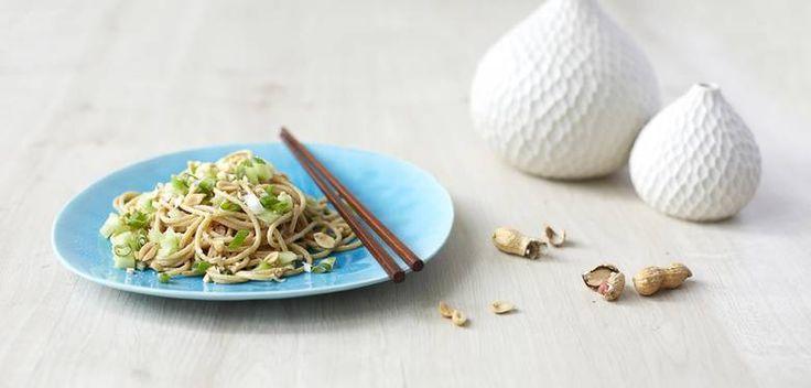 Sesame Peanut Noodles - Cynthia Barcomi
