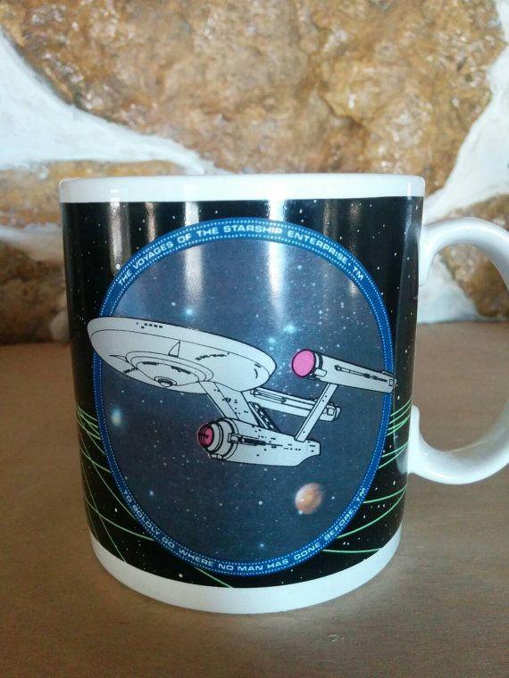Check out this item in my Etsy shop https://www.etsy.com/listing/258242648/1991-starship-enterprise-star-trek-mug