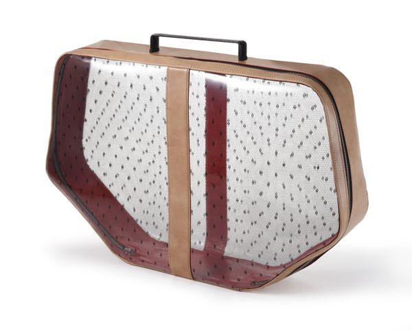 Transparent suitcase, Especially made for TLV Fashion week Summer 2013.                                                Order from info@collecte.co.il