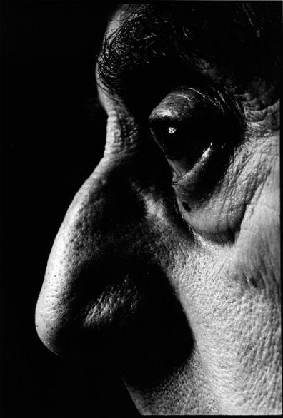 David-Bailey - Man Ray, 1968