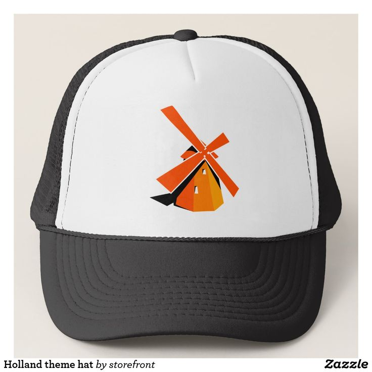 Holland theme hat