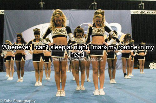 Cheerleading.. my entire childhoood, no wonder i cant sleep now theres nothing to calm me: Cheer Quotes, My Life, Cheerleading Cheerleading, Can'T Sleep, So True, World Cups, Cheerleading 3, Cheer Life, Competition Cheerleading