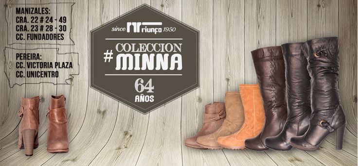 Lo mejor e la #ColeccióMinna de Calzadotriunfo