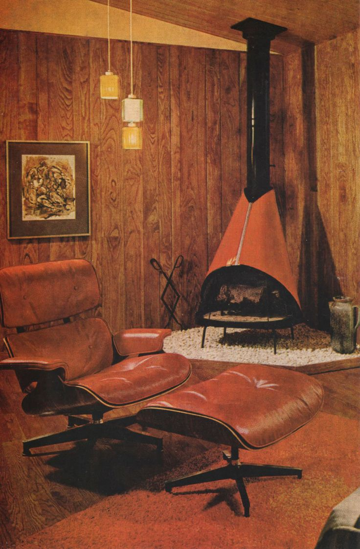 Image From Better Homes And Gardens Decorating Book Published 1968 Look At That Fireplace