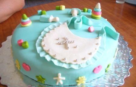Торт на первый день рождения ребенка фото