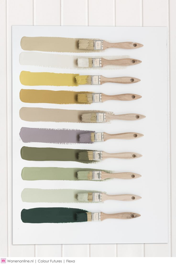 Kleurentrends 2018 - kleurpalet
