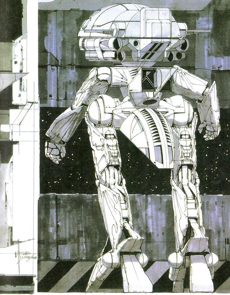 WaDom for Turn A Gundam by Syd Mead