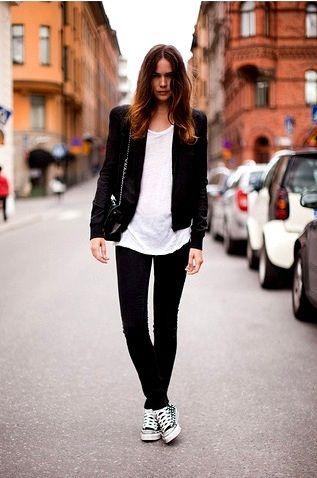 Staple: Hair Colors, Fashion Style, Hair Styles, Style Hair, Converse, Tenis Style, Beauty Styles, Style Fashion