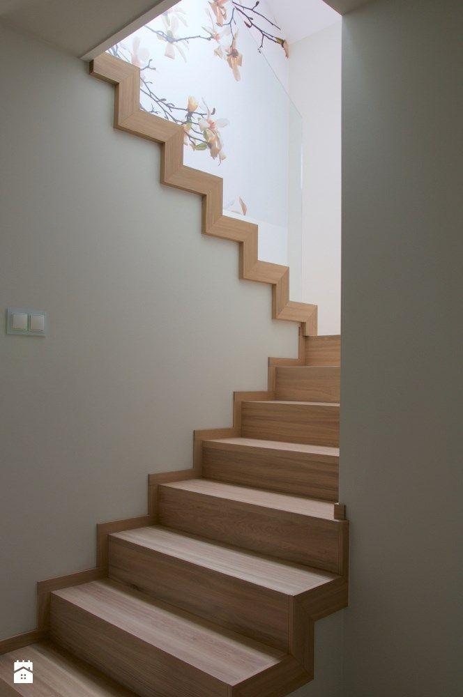 Dom pod Krakowem - Średnie schody, styl nowoczesny - zdjęcie od Tylko Wnętrze Pracownia Projektowa