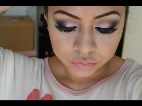 SIMPLE ROSA PARA SAN VALENTIN - YouTube | maquillaje ...