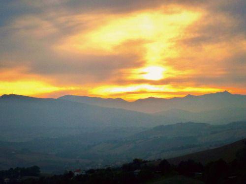 Le Marche - Twilight in Castignano