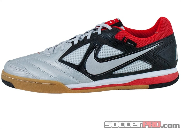 Nike5 Gato - Metallic Platinum with Black and Challenge Red...$41.99