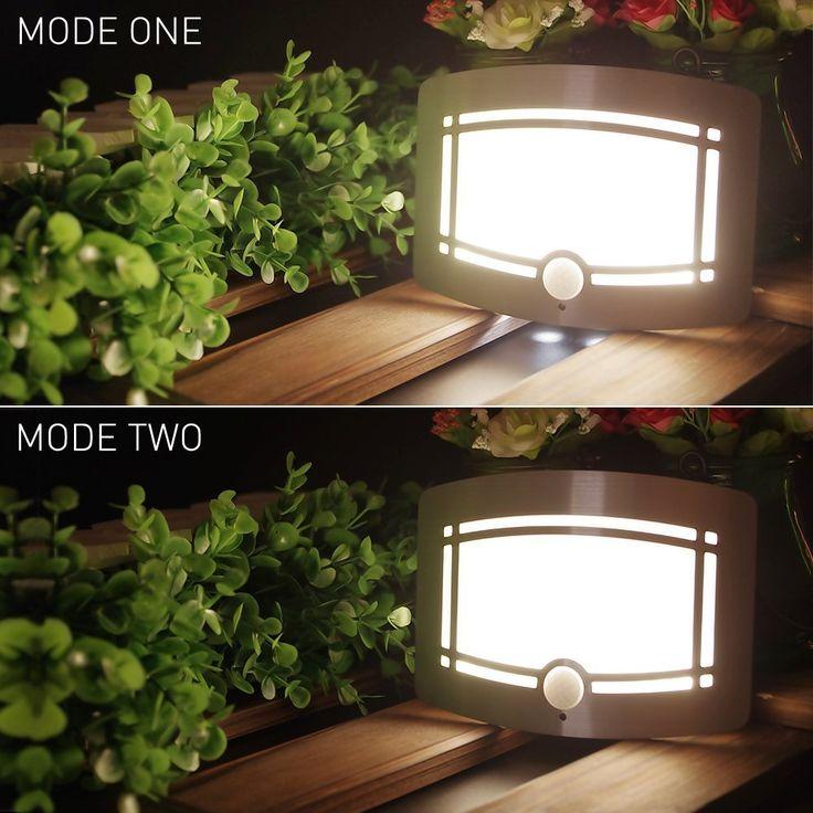 Barato Novidade Night Light sem fio Sensor de movimento ativado parede de LED de nocturna cintilante arandela iluminação com bateria operado, Compro Qualidade Luzes noturnas diretamente de fornecedores da China:        Este movimento ativado bateria operado LED arandela dá-lhe  Uma solução para iluminação de realce e ilumina