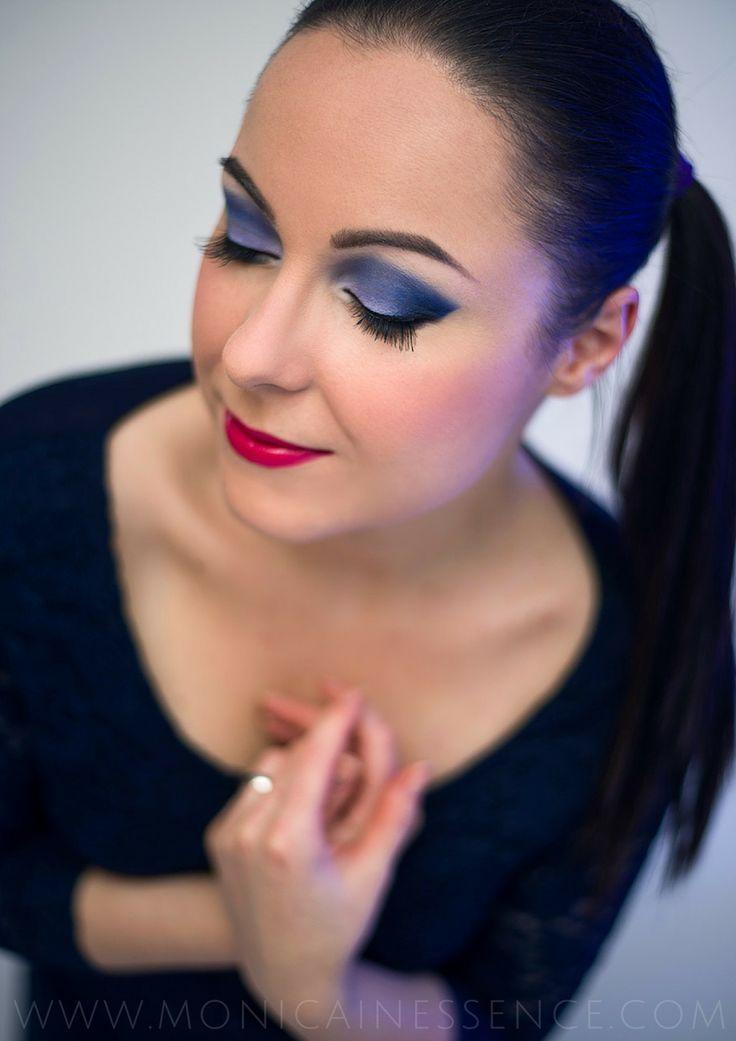 MONICAINESSENCE: Evening make up with ZOEVA Retro Future eyeshadow palette