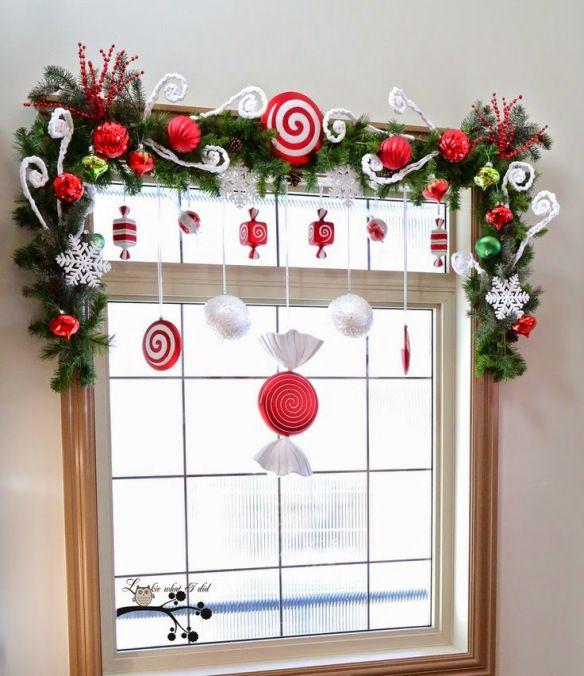 Decoración de ventanas para Navidad - Manualidades Gratis