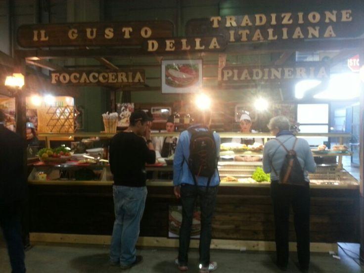 Lo stend di L'avventura in un panino a Fiera milano city....!!!