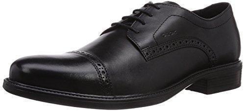 Oferta: 109.9€ Dto: -29%. Comprar Ofertas de Geox UOMO CARNABY B - zapatos con cordones de cuero hombre, color negro, talla 41 barato. ¡Mira las ofertas!