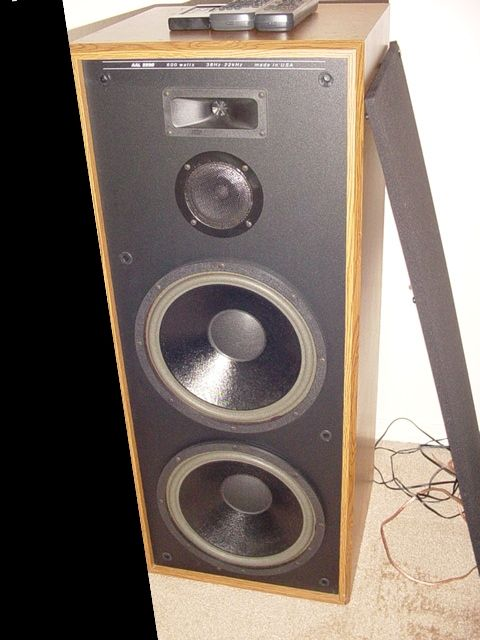 Mtx aal 2230 dual 12 39 39 3 way speakers vintage for 12 inch floor speakers