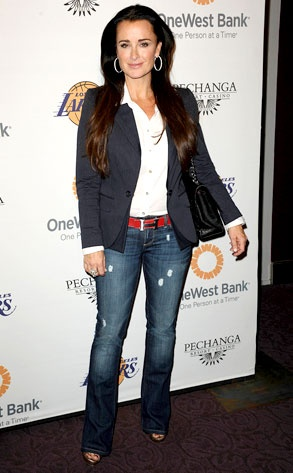 Kyle Richards from The real housewives of Beverly Hills....Love her style!