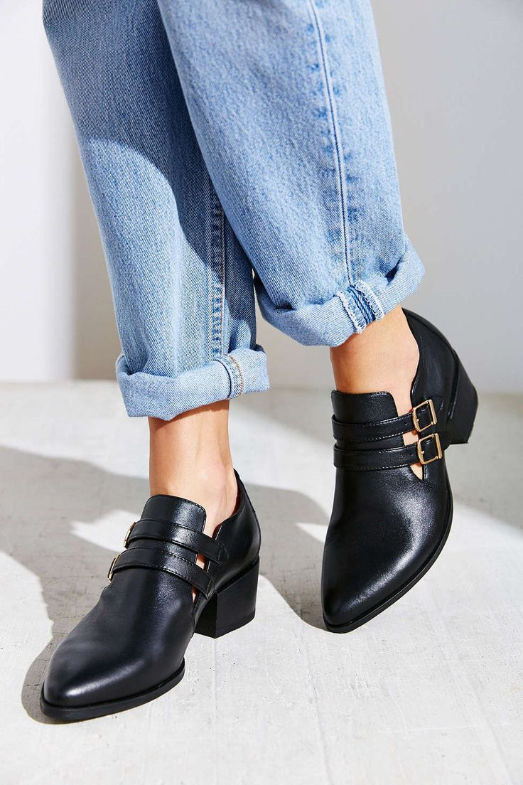 Vagabond Marja Double Buckle Oxford - Urban Outfitters