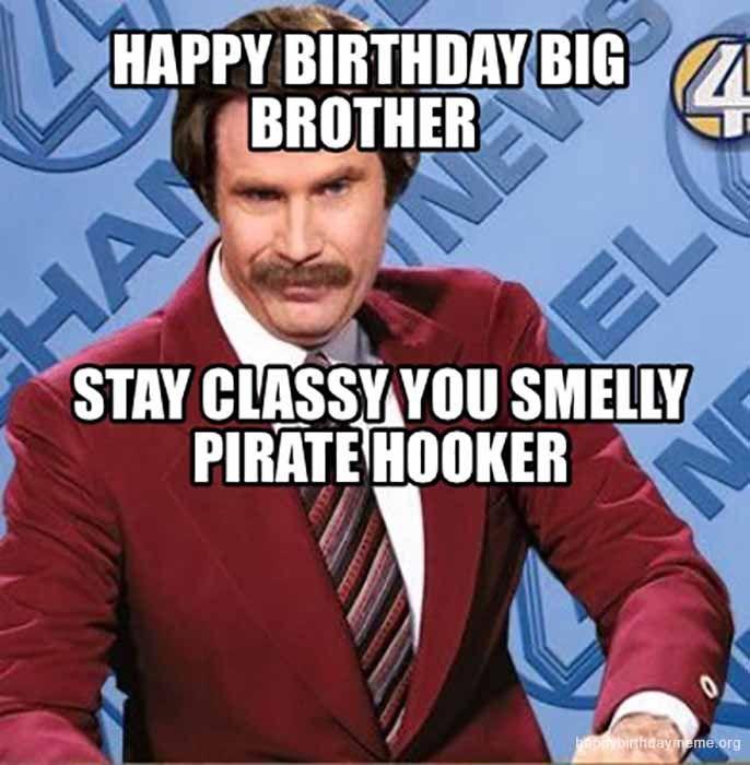 Happy Birthday Big Brother Meme