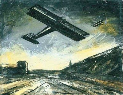 (Mario Sironi - Periferia,1942/1943)
