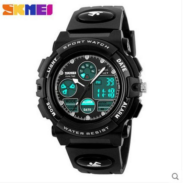 $26.99 (Buy here: https://alitems.com/g/1e8d114494ebda23ff8b16525dc3e8/?i=5&ulp=https%3A%2F%2Fwww.aliexpress.com%2Fitem%2Foriginal-sports-watch-deals-on-wrist-watches-boys-brands-digital-watches%2F32717937521.html ) SKMEI children male girl students watch alarm clock movement multi-function timing calendar luminous children electronic watch for just $26.99