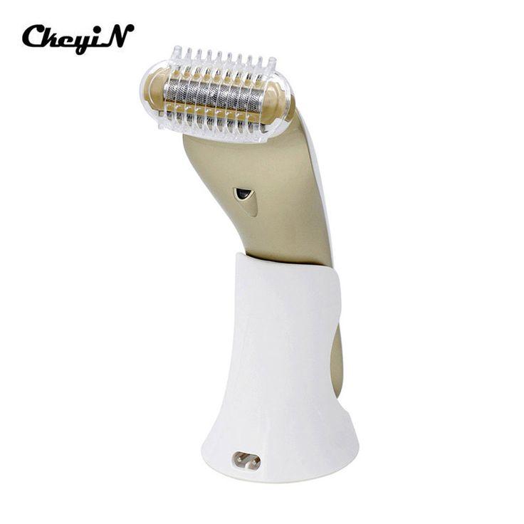 CkeyiN Electric Waterproof Female Epilator Shaver Razor Hair Removal Shaving Face Body Armpit Underarm Leg Depilador Depilation