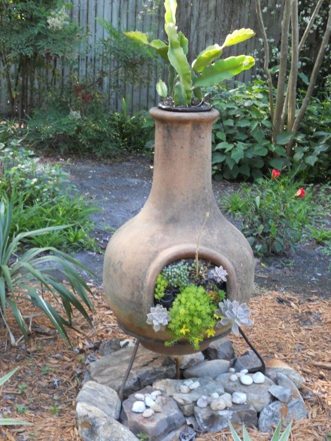 15 best Chiminea Garden/Planter images on Pinterest ...