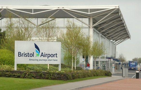 Bristol Airport — in north somerset