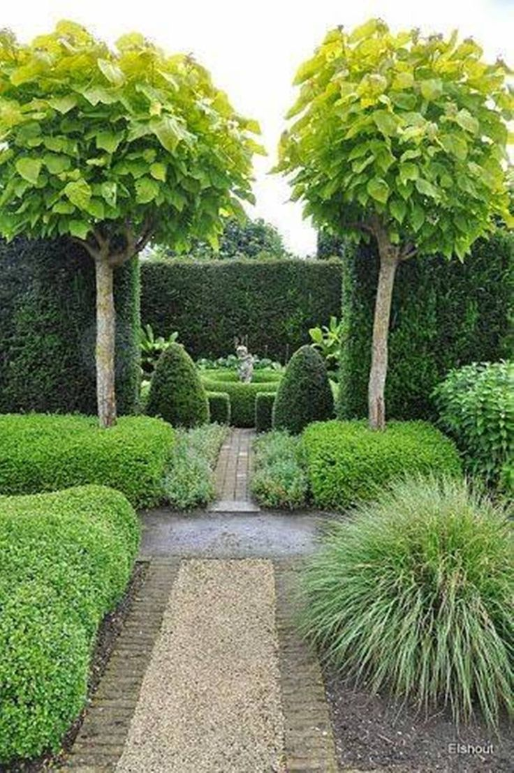 Landscaping And Outdoor Building , Small Trees For Landscaping Formal Garden  Inspiration, European Garden Inspiration