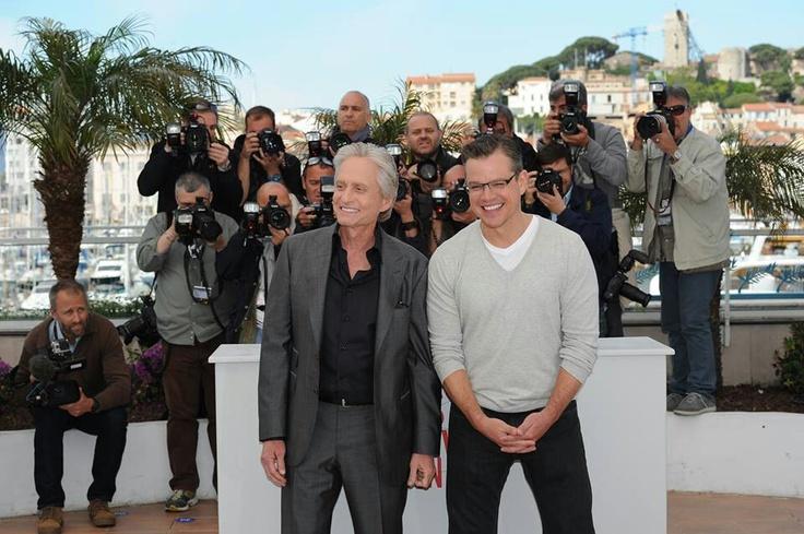 Matt Damon Mickael Douglas