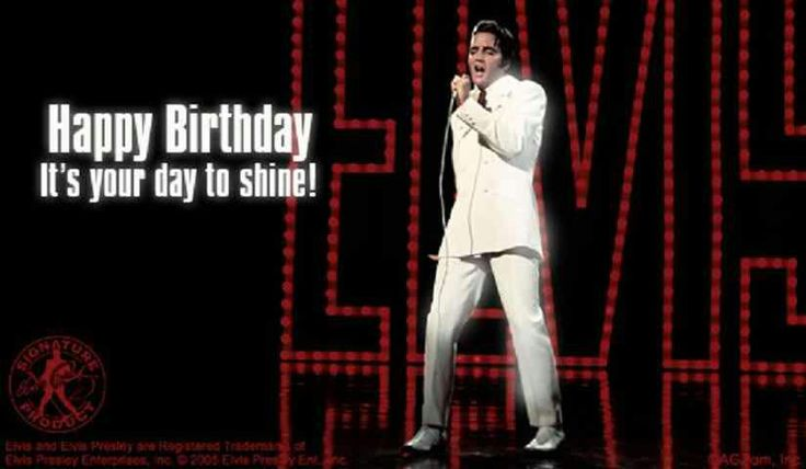 Elvis Birthday Card Home Made Gifts Pinterest Cards