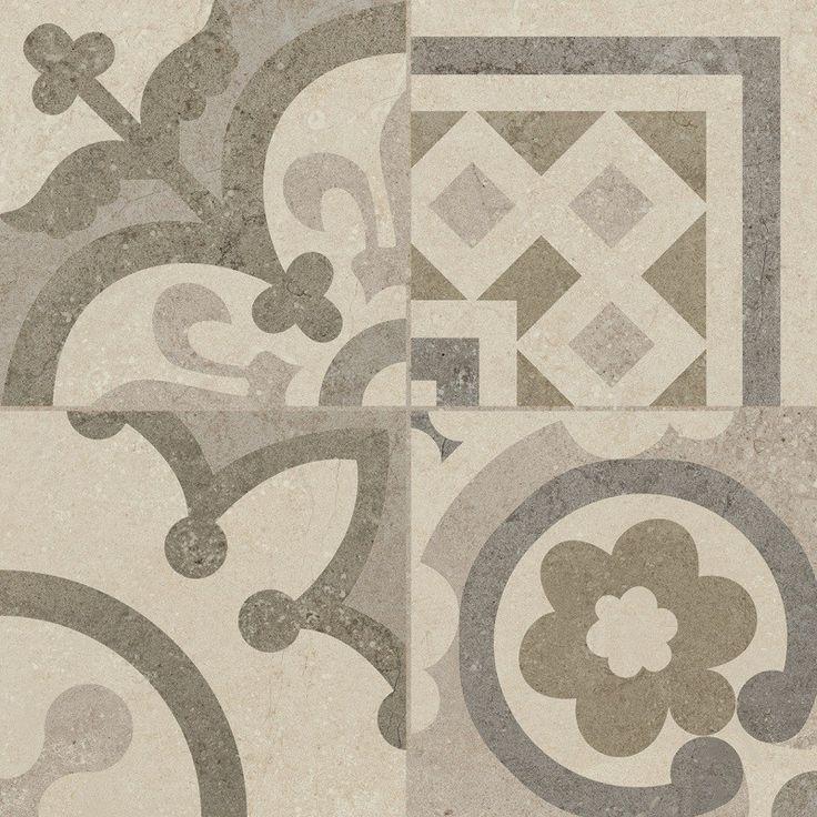 Riviera Pearl Tile Designs for Decorative Flooring