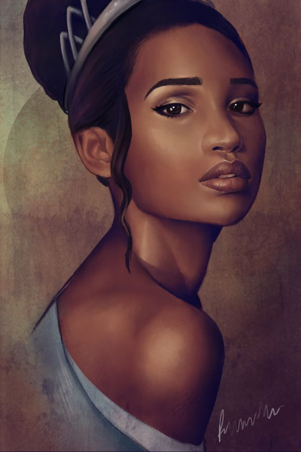 Black Women Art! – Tiana by PennyJaneD