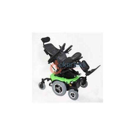 Wollex Mister Standart Akülü Tekerlekli Sandalye, dış kullanım için farklı arazi koşulları için hazırlanmış, bağımsız süspansiyon şasisi bulunmaktadır. #wollexmister #wollex #wollextekerleklisandalye #wollexakulutekerleklisandalye